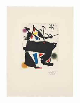 Joan Miro-Les Montagnerds VIII-1990