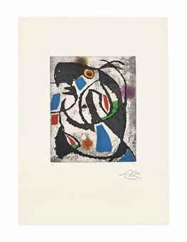 Joan Miro-Les Montagnerds IX-1990