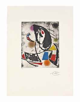 Joan Miro-Les Montagnerds X-1990