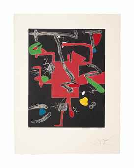 Joan Miro-Son Abrines I-1987