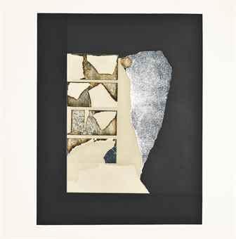 Louise Nevelson-Presenza Grafica - Silver-1973