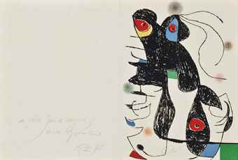 Joan Miro-Paroles Peintes V-1975