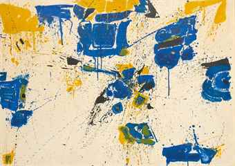 Sam Francis-The Upper Yellow-1960