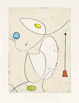 Max Ernst-La Cloche Rouge-1970
