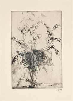 Horst Janssen-Hanno's Tod-1973