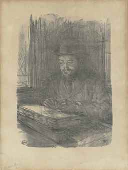 Henri de Toulouse-Lautrec-Le bon graveur - Adolphe Albert-1898
