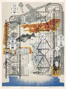 Eduardo Paolozzi-Blueprints for a New Museum-1980