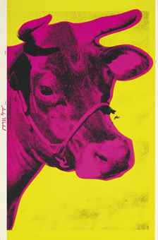 Andy Warhol-Cow-1966