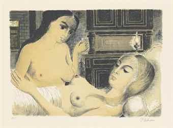Paul Delvaux-Le sommeil-1970
