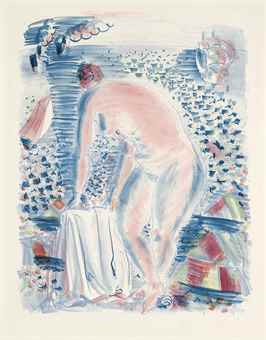 Raoul Dufy-La Grande Baigneuse-1928