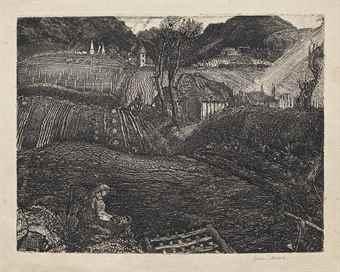 Graham Sutherland-Village-1925