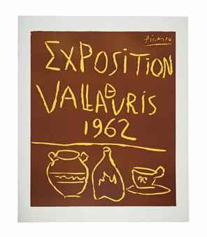 Pablo Picasso-Exposition de Vallauris 1962-1962