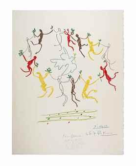 Pablo Picasso-After Pablo Picasso - La Ronde de la Jeunesse-1961