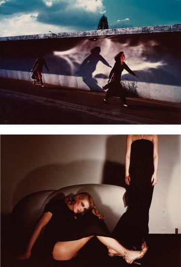 Guy Bourdin-Fashion Study, French Vogue, August, 1975; Fashion Study, French Vogue, March-1976