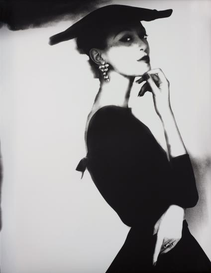 Lillian Bassman-Barbara Mullen, New York, Harper's Bazaar-1958