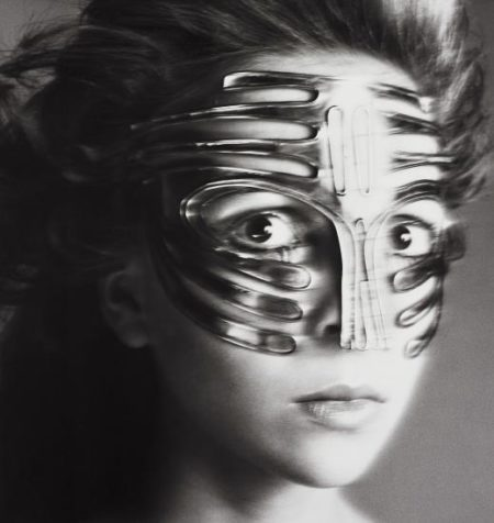 Richard Avedon-Penelope Tree, Mask By Ungaro, Paris Studio, January-1968