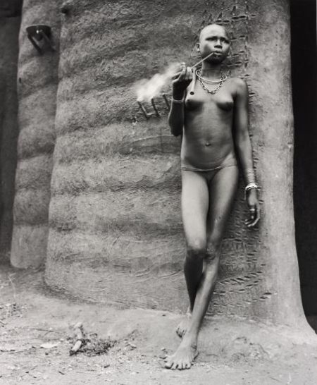 Hector Acebes-Unidentified Woman, Benin-1953