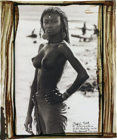 Peter Beard-Fayel Tall At Loingalani, Lake Rudolf, Kenya, February-1987