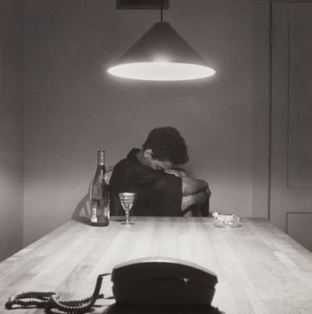 Carrie Mae Weems-Untitled (Woman And Phone) From The Kitchen Table-1990