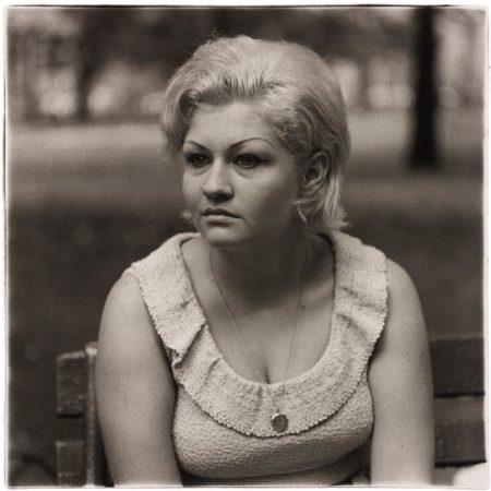Diane Arbus-Woman With A Locket In Washington Square Park, N.Y.C.-1965