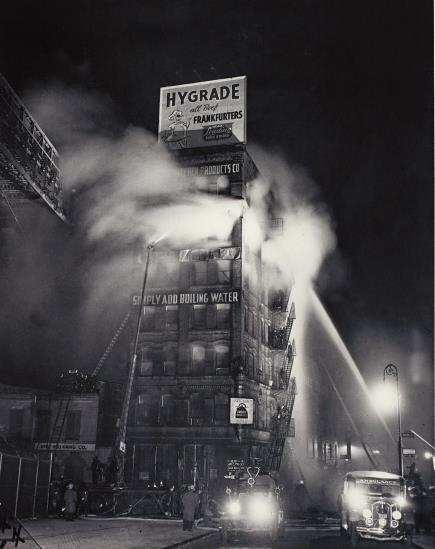Weegee-Simply Add Boiling Water-1937