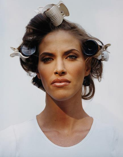 Woman In Curlers From The Valley-2002