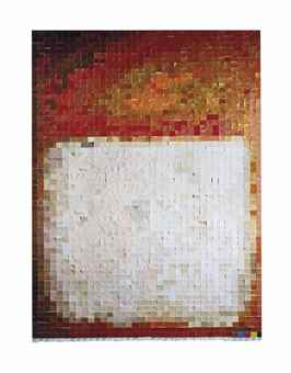 Vik Muniz-Picture of Color (After Rothko)-2001