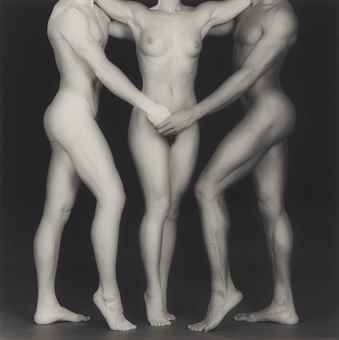 Robert Mapplethorpe-Ken, Lydia and Tyler-1985