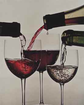 Irving Penn-Three Wines of France, New York-1953