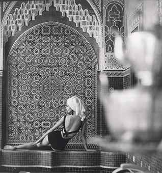 Franz Christian Gundlach-Lissy Schaper for Triumph, Tanger, Morocco-1964