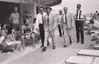 Terry O'Neill-Frank Sinatra, Miami Beach-1968