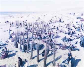 Massimo Vitali-Spiaggiona Senza Moda, #0832-2001