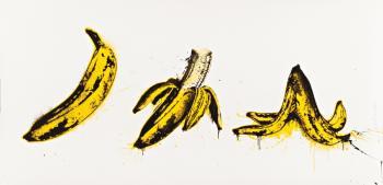 Mr. Brainwash-Banana Split (White Edition)-