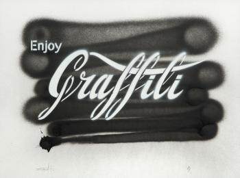 Ernest Zacharevic-Enjoy Graffiti-2014