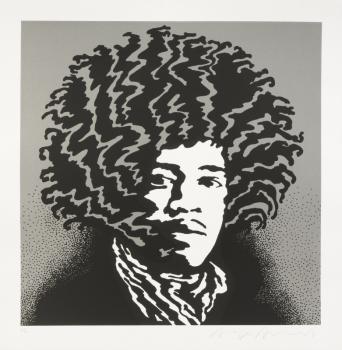 John Van Hamersveld-Pinnacle Hendrix-1968