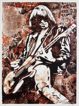 Shepard Fairey-Johnny Ramone-2008