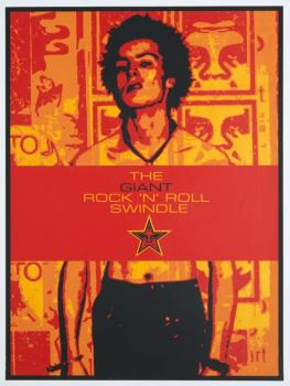 Shepard Fairey-Sid Vicious - The Rock And Roll Giant Swindle-2002