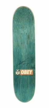 Shepard Fairey-Obey Skate Deck-2009
