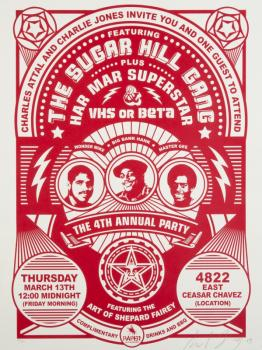 Shepard Fairey-The Sugar Hill Gang-2003
