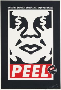 Shepard Fairey-Peel - Andre The Giant-2006
