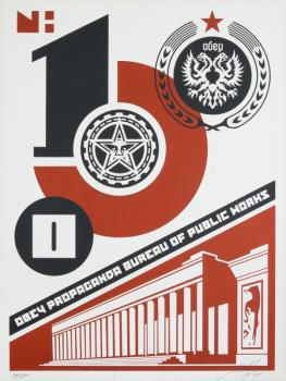 Shepard Fairey-Bureau Of Public Works-2004