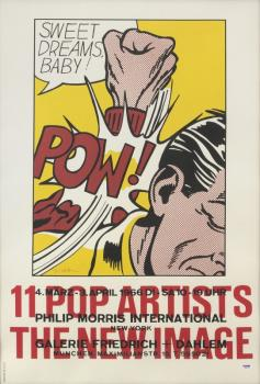Roy Lichtenstein-Sweet Dreams Baby, Poster For Galerie Friedrich and Dahlem Exhibition-1965