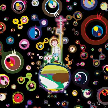 Takashi Murakami-Jellyfish Eyes (Black)-2004