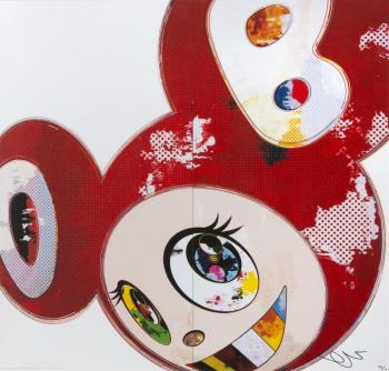 Takashi Murakami-And Then When That's Done (Red)-2013