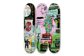 Jean-Michel Basquiat-After Jean-Michel Basquiat - In Italian Skate Decks-2014