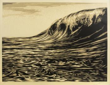 Shepard Fairey-Slick New Wave-2010