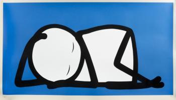 Stik-Sleeping Baby Blue ( Nhs Blue )-2005