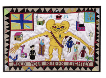 Grayson Perry-Hold Your Beliefs Lightly-2011