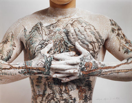 Huang Yan-Chinese Tattoo Landscape No. 2-1999