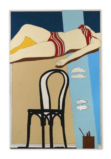 Tano Festa-Al Livello Del Mare. Studio Numero 1-1965